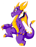 My Take on Spyro - 2 by KaylaTheDragoness