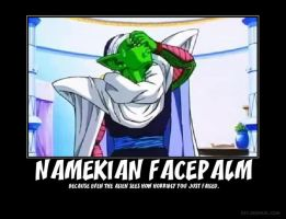 Namekian Facepalm by AshuraTheHedgehog199