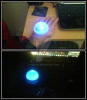 Ezreal glove - Sphere illumination test by Yonato