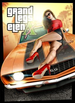 Grand Legs Elena | Muscle Car Cheesecake contest by danyboz