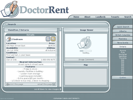 DoctorRent website by DanielJohnston