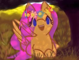 Yellow Peace by ionipony