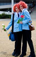 Hitachiin Twins by Indefinitefotography
