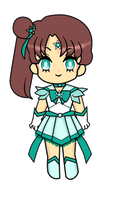 Sailor Asteria (Animated) by MilkPeach