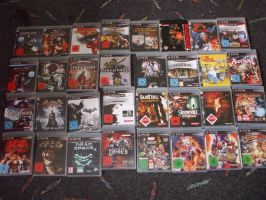My Ps3 Games Collection by Dantefreak