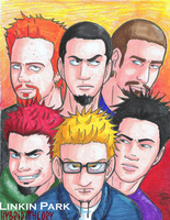 Linkin Park: Hybrid Theory by LlovesHalo