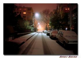 Enjoy the red winter nights. by quisatzh