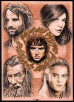 THE LORD OF THE RINGS by S-von-P