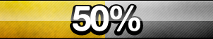 50% Progress Button by ButtonsMaker
