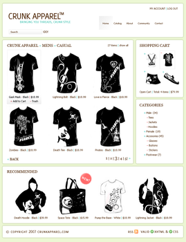 Crunk Apparel by screamoXcore