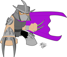 Mini 80's Shredder by Drew0b1