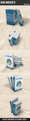 Book Mockup6 by graphickey