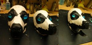 mask blank II sideview by TabbyPaw