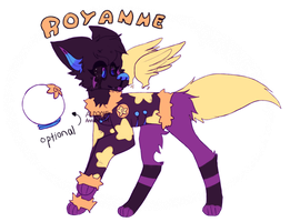 Royanne Ref by Annie-bellie