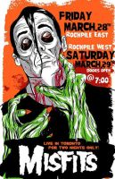 Misfits-Toronto gig poster by after-the-funeral