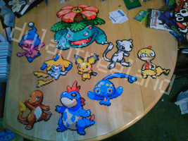 Perler Bead Pokemon by dylrocks95
