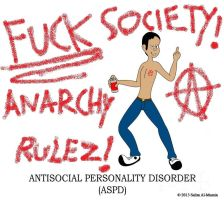 Antisocial Personality Disorder by TheUnisonReturns