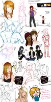 A recent sketch dump by Zyvian