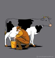 Milking Out by flyingmouse365