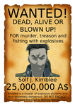 Wanted poster Solf J. Kimblee by cthulhufhtagn1987