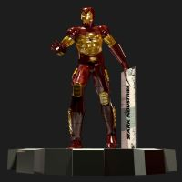 3D Iron Man 1994 armor by iron-at