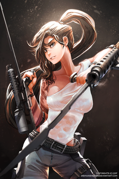 Commissioned : Ilia Cherney by dishwasher1910