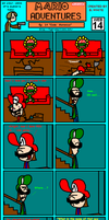 Mario Adventures No. 14 by Mariobro64