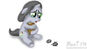 Sad Crying Filly by NaarPuni