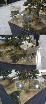 Malifaux Swamp Demo Table by TheBugKing
