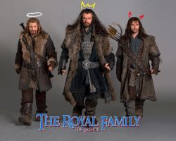 TGD #3: The Royal Family of Erebor 2 by PeckishOwl