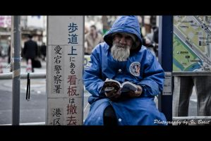 Homeless in Tokyo by Solarstones