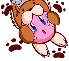 Animal Kirby by pastelhoodie