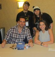 Laura Bailey and Travis Willingham by Omaki