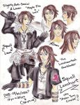 FF B-Day Speed Sketch: Squall Leonhart by LadyJuxtaposition