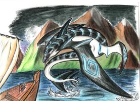Leviathan. by Azurna