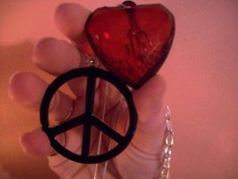 Love and Peace by peacetracati