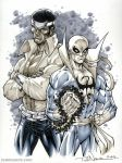 Powerman and Iron Fist by ToddNauck