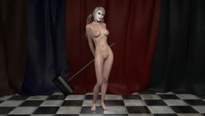 request - Harley Quinn (nude) by mrmorfium