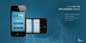 JobsApp - Iphone Application by Areeb89