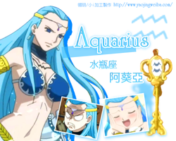 Aquarius , Fairy Tail by icecream80810