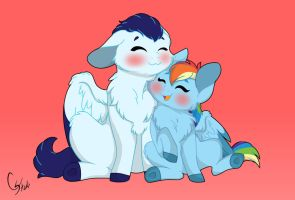 Furry Baabs! by Colourstrike