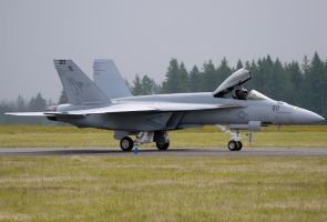 Boeing F-18E Super Hornet Taxi by shelbs2