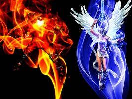 Inferno and Elysium by Stylistic86