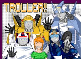 Troller_characters by BTFly009