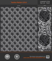 Textile Pattern 23.0 by Sed-rah-Stock