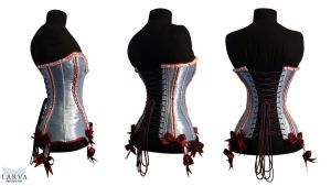 Blue Cake Corset Back by Larva by Eisfluegel