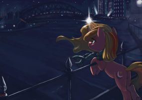 Somewhere, Someday We Will Become Stars Too by ParadoxBroken