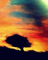 Fading Into The Sunset... by NEONchild1