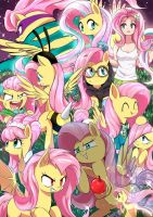 Tons of fluttershy by TungstemWillow