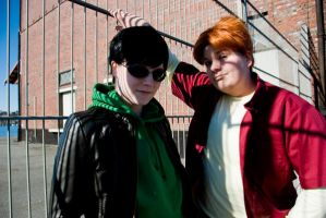 YJ: Dick and Wally by Nami06